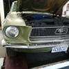 Mustang 68 Lime Gold - last post by Carou